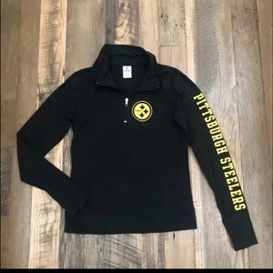 Victoria Secret Pink Pittsburgh Steelers Pullover